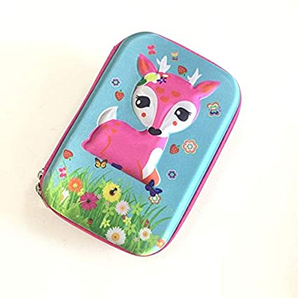 Pencil case - Sika deer pencil case estuche escolar Cartoon ...