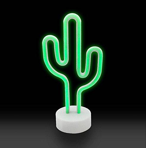 Yeaheo Neon Signs,Cactus Decor Neon Decor neon Lights,for Bedroom Garden Birthday Party,Kids Room, Living Room, Wedding Man cave Bathroom Party Decor (Cactus(Battery+USB))