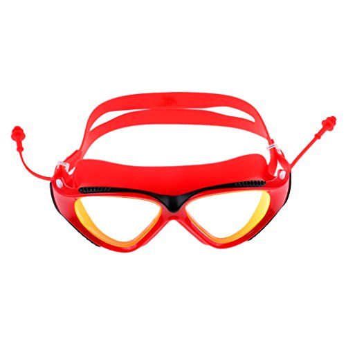 Sharplace Lunettes de Natation UV Protection Masque de Plongée Avec Cas Protection Sports Accessoire