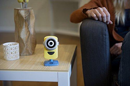 Despicable Me 3 - Minion Cam Hd Wi-Fi Camera Minion Translator Surveillance Camera, Yellow/Blue (MinionCam)