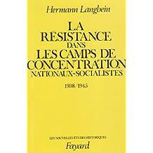 LA RÉSISTANCE DANS LES CAMPS DE CONCENTRATION