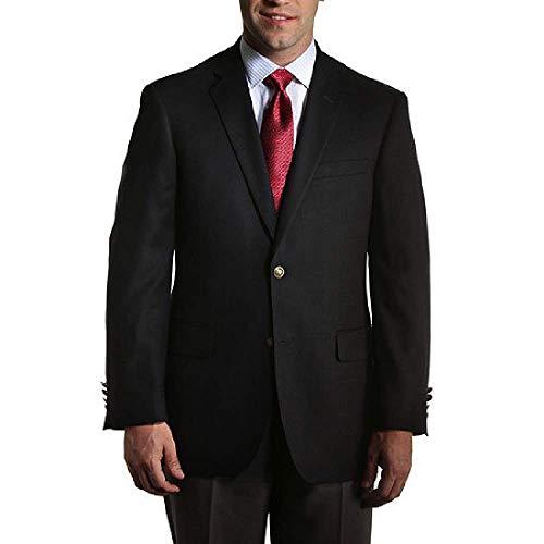 [해외]크고 키가 큰 해군 클래식 스트레치 블 레이저 비즈니스와 캐주얼 착용 사이즈 72 / Big and Tall Navy Classic Stretch Blazer for Business and Casual Wear to Size 72