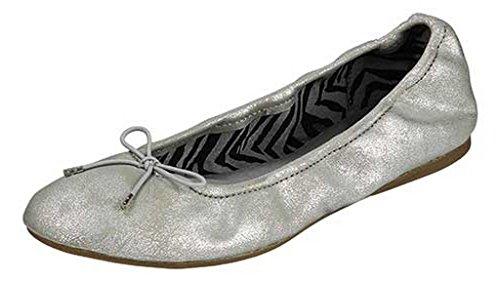 Sanuk Women's Yoga Ballet Silver Flat