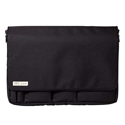 LIHIT LAB Carrying Pouch (Laptop Sleeve), Black, 9.4 x 13.4 Inches (A7577-24)