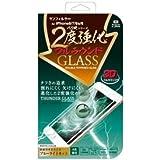 サンクレスト サンフィルター iPhone8/7/6s/6 4.7インチ対応 バリ硬 2度強化ガラス フルラウンド ブルーライトカット ホワイト iP7-3DBLW