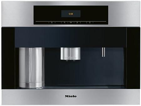 Miele CVA 5060 Integrado Totalmente automática Máquina espresso 2.3L 15tazas Acero inoxidable - Cafetera (Integrado, Máquina espresso, 2,3 L, Granos de café, Molinillo integrado, Acero inoxidable): Amazon.es: Hogar