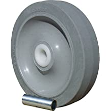"Colson Non Marking Gray Performa Soft Rubber Wheel 5"" x1-1/4"" with Plain Bearing by Colson"
