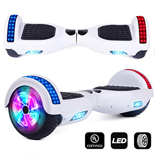 Benedi Hoverboard Two-Wheel Self Balancing Scooter UL2272 Certified Hover Board with 6.5