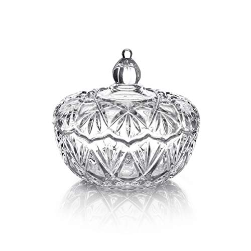 Mikasa Saturn Covered Candy Dish, 6.25