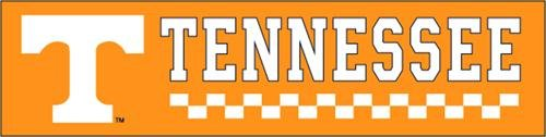 UPC 733947531107, Tennessee Volunteers 8 Foot Applique and Embroidered Banner NCAA College Athletics Fan Shop Sports Team Merchandise