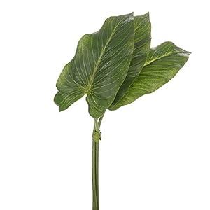 Anthurium Artificial Leaf Bundle 13 Inches x 6 Stems 10