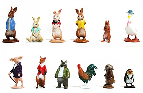 Mister A Gift Peter Rabbit set of 12 cake toppers Brand New myro