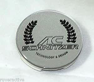 Bmw Ac Schnitzer Oem Genuine Silver Wheel Center Cap Round 60mm Brand New Center Caps Amazon
