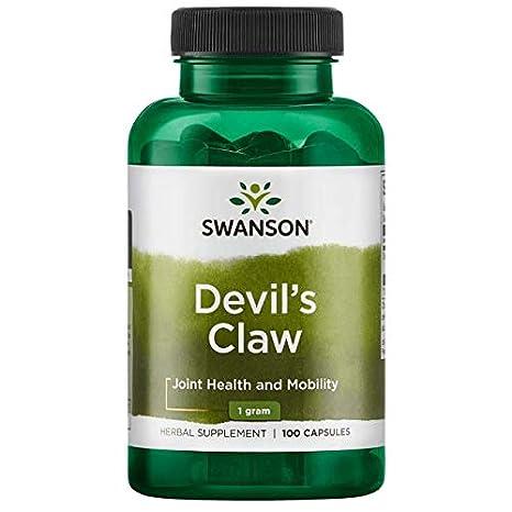 Teufelskralle 500 mg , 100 Kapseln Grösse 00 Swanson Health Products: Amazon.es: Salud y cuidado personal