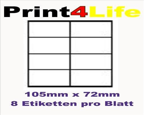 120 Stk. Selbstklebende silbrig matte matte matte Sicherheits - Etiketten (Schachbrettmuster) aus Delaminationsfolie - Adressetiketten Markierungspunkte Format 97.0x67.6mm B00WSUG68K | Mode-Muster  d794a3