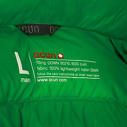 Ocun Down Tsunami Grass Green Jacket qUqw5OFr