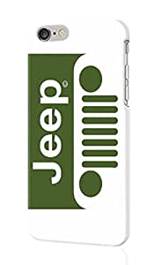 "JEEP LOGO Personalized Diy Custom Unique 3D Rough Hard Case Cover Skin For iPhone 6 Case, iPhone 6 4.7"" inches case, Design By Graceworld"