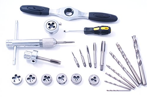 HHIP 1011-0127 27 Piece Metric Tap, Die and Drill Set
