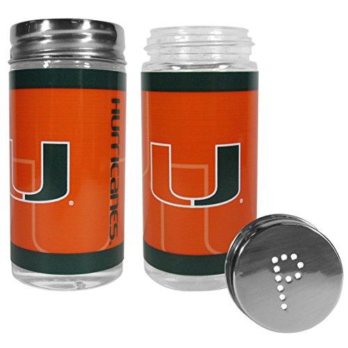NCAA Miami Hurricanes Tailgater Salt & Pepper Shakers - Miami Hurricanes Tailgater