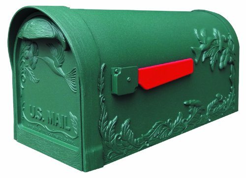 - Hummingbird Curbside Mailbox (Evergreen)