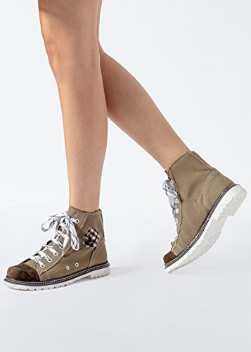 boots d jACKY D olive Helloliv Stockerpoint braun marron marron zenta Braun 7qA5a