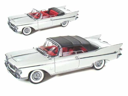 CHRYSLER IMPERIAL CROWN 1961 bianca 1 18 - Lucky Die Cast - Auto Stradali - Die Cast - modellolino