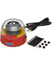 Benchmark Scientific BSC1006-R Red Mini Centrifuge With 2 Rotors and 6 Adapters