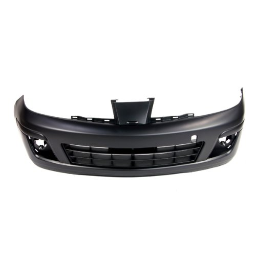 TKY DG04010BA Dodge Ram Textured Gray Replacement Front Lower Bumper Cover