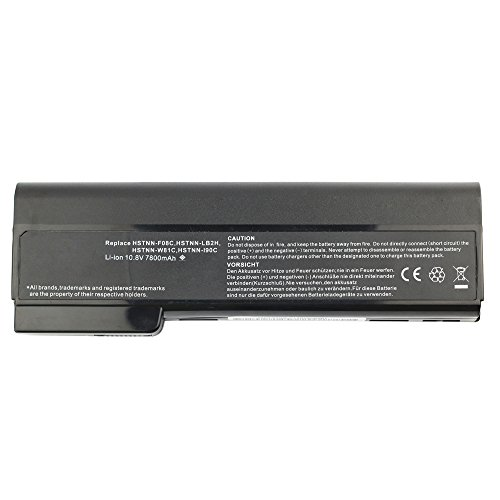 Bay Valley Parts 9-Cell 10.8V 7800mAh New Replacement Laptop Battery for HP:ProBook 6360b,6360T (S14 Standard Oem)