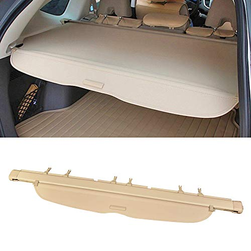 Cargo Cover Fits 2007-2011 Honda CRV | Factory Style Beige Luggage Carrier Rear Trunk Security Cover by IKON MOTORSPORTS | 2008 2009 2010
