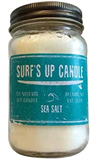 9oz Surf/'s Up Candle Surfs Up Candle Island Moon Surf Wit Candle by