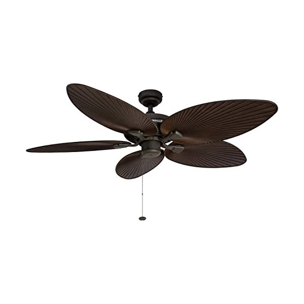 Honeywell-Palm-Island-52-Inch-Tropical-Ceiling-Fan-Five-Palm-Leaf-Blades-IndoorOutdoor-Damp-Rated-Bronze