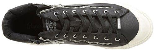 Pepe Jeans London Brother Zip Herren Sneakers Schwarz (999BLACK)