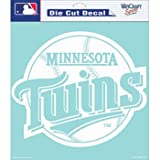"MLB Minnesota Twins Die-Cut Decal, 8""x8"", Team Color"