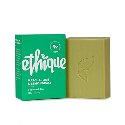 Ethique Eco-Friendly Bodywash Bar (Matcha, Lime & Lemongrass) 4.23 oz
