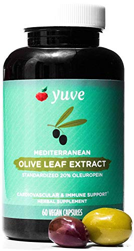 Yuve Mediterranean Olive Extract 750mg
