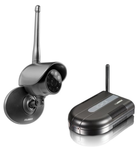Lorex LW1001 Color Wireless Surveillance System with Indoor/Outdoor Night Vision Camera