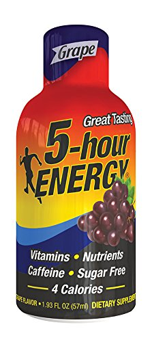 LIVING ESSENTIALS 5-Hour Energy Grape 12/Cs [Health and Beauty]
