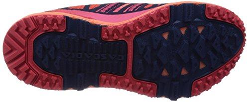 Brooks Dames Cascadia 10 Sportschoen Flamingo / Crèmekleur / Blauwdruk