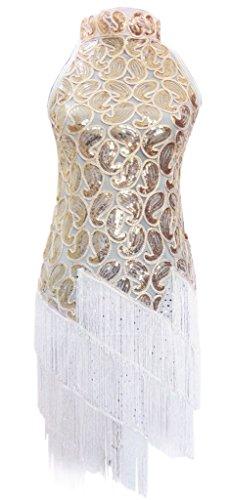 Eyekepper Tassel Sequins Latin Vintage 1920S Dance Dress (Sexy Ballroom Dress)