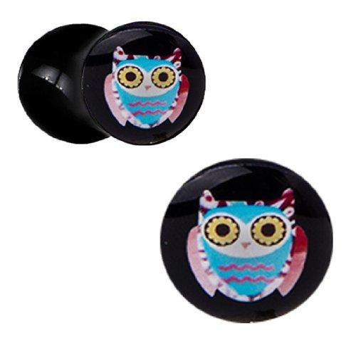 00 gauges plugs owl - 7
