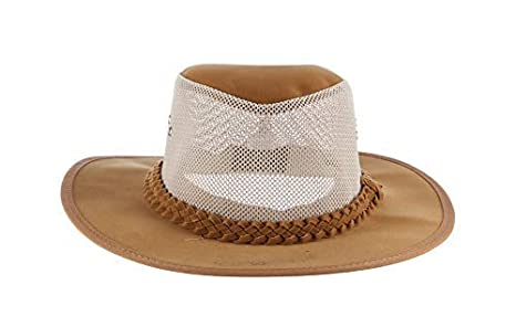 Mens Soaker Hat with Mesh Sides Dorfman Pacific Co