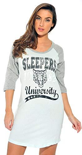 Just Love 6084-8-S Sleep Dress Women/Sleeping Shirt/Nightshirt