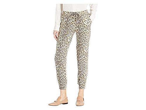 - CHASER Women's Heirloom Woven Zip Pocket Jogger Animal Print X-Small 28