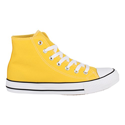36 Elara Donna nbsp; Sneakers High Sneaker Sport Uomo Unisex Tessile Top Scarpe Per Scarpe rrax7qU