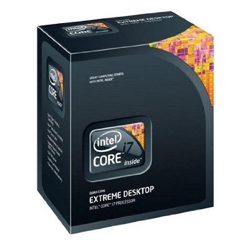 Intel i7-965 (Nehalem) Quad Core Processor Extreme Edition - 3.20 GHz,8MB L3 Cache,1600MHz FSB,Socket 1366,45 nm,3 Year Warranty,Retail Boxed