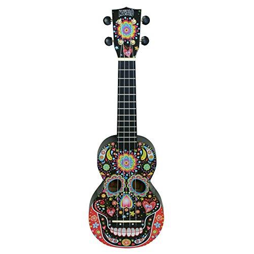 Mahalo Ukuleles Mahalo Art Series Ukulele, Right Handed, Soprano (MA1SK bk)