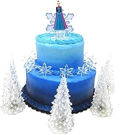 Amazon.com: Juego de decoración para tarta de cumpleaños con ...