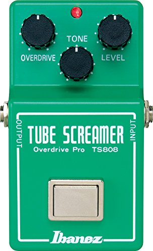 Pedal Fender Boss Deluxe Reverb - Ibanez TS808 Overdrive Pedal
