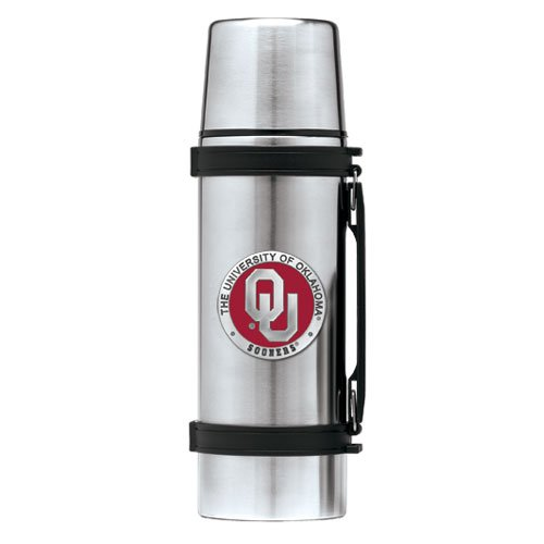 Oklahoma Sooners Stainless Steel Thermos - 2